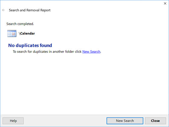Outlook Duplicate Remover - find and remove Outlook duplicate items  automatically