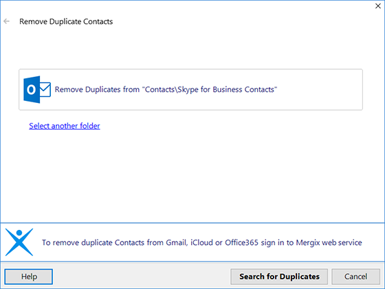 Remove Outlook duplicates with 4Team Outlook Duplicate Remover